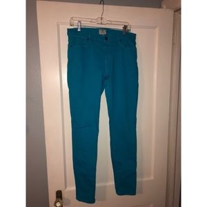 Fossil skinny colored denim, size 30 discontinued